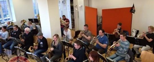 Offene Probe des Show- und Blasorchesters FMK Essen-Kray
